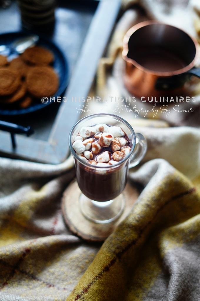 chocolat chaud maison au lait concentre sucre