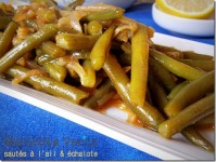 haricots verts ail echalote 3