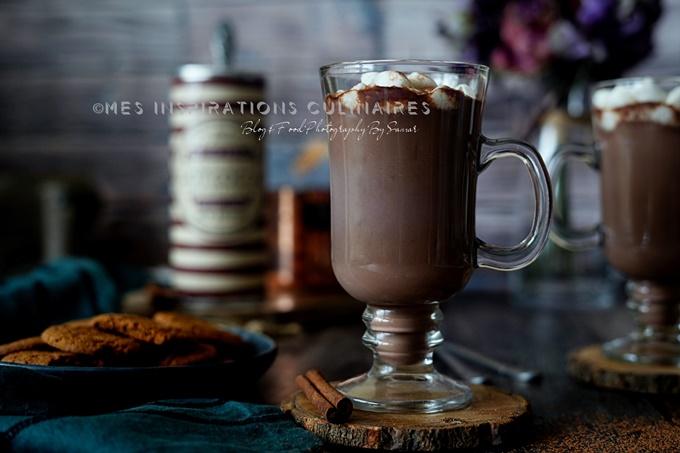 recette chocolat chaud maison au lait de coco