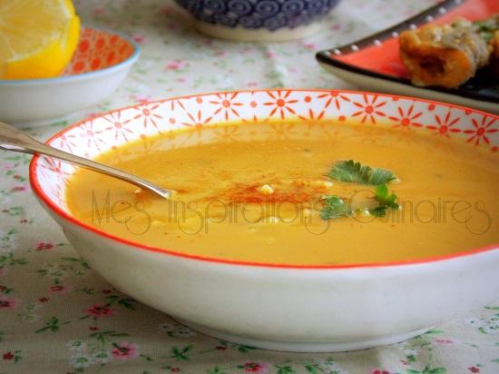 soupe aux pois cassés facile