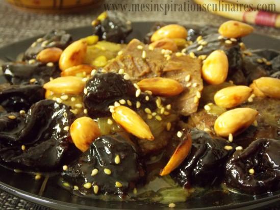 Tajine Viande aux pruneaux / Plat pour ramadan