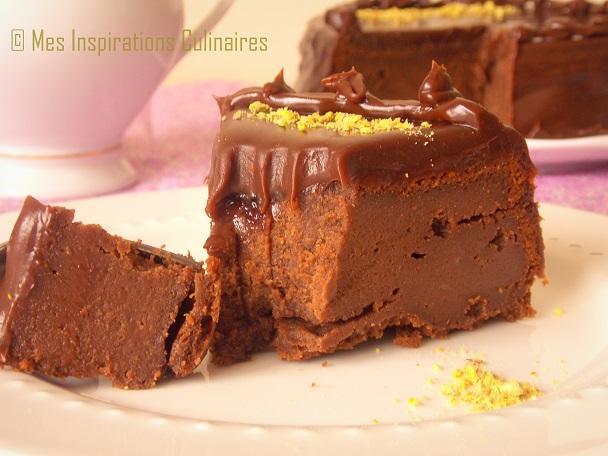 fondant glace au chocolat mascarpone