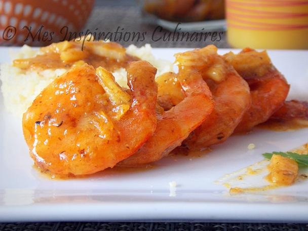 crevettes-ail-jus-d'orange