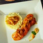crevettes a l'orange et aux epices