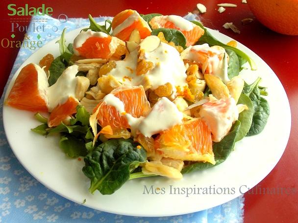 Salade De Poulet Orange Et Curry Le Blog Cuisine De Samar