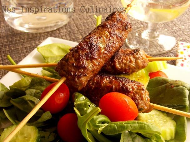 Recette brochette de viande