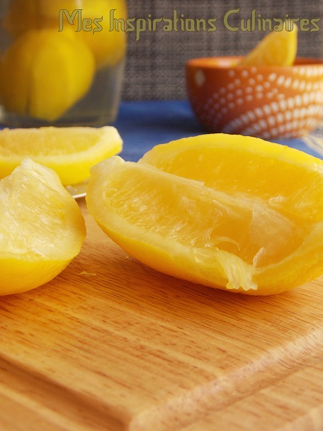 citron confit / ramadan 2014