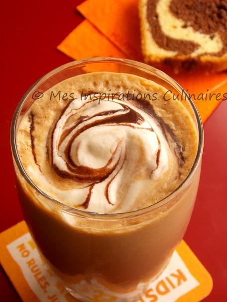 Milkshake au Peanut butter, chocolat et sirop d'erable