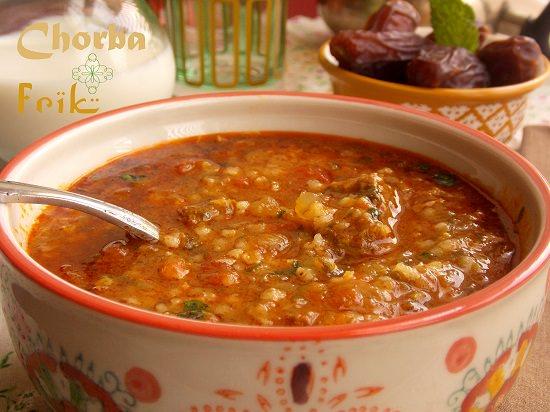 Chorba frik jari le blog cuisine de samar - Blog de cuisine tunisienne ...