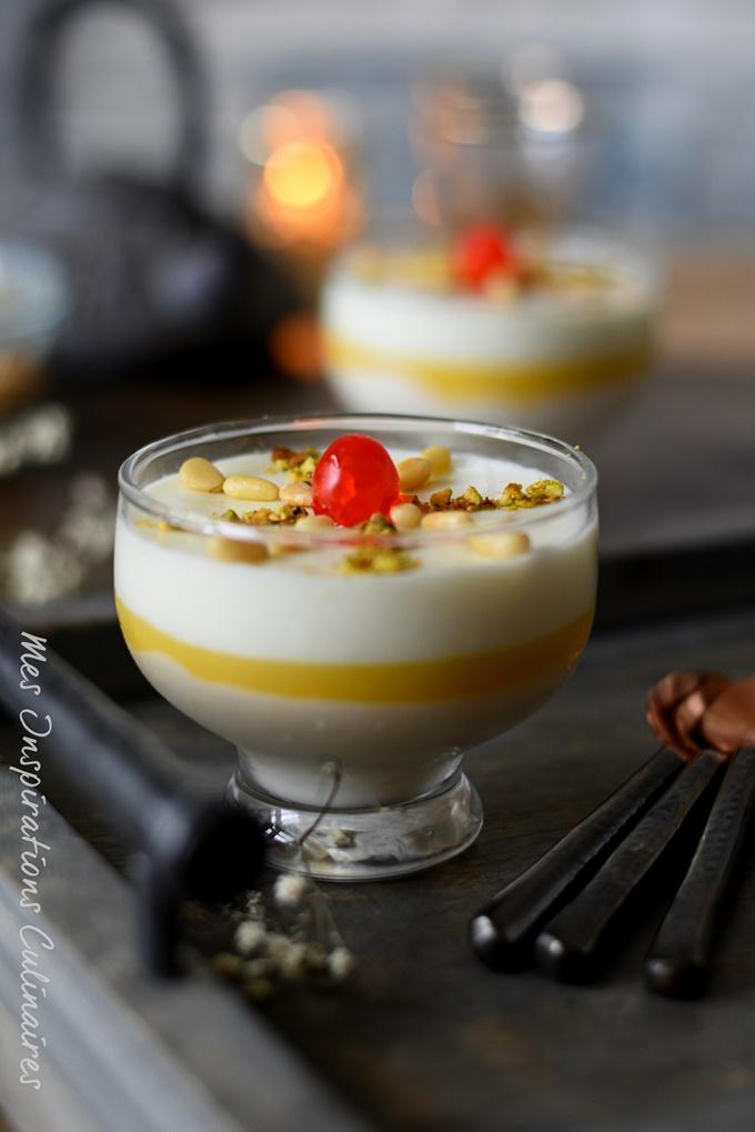 Mhalbi : crème dessert au riz pour ramadan