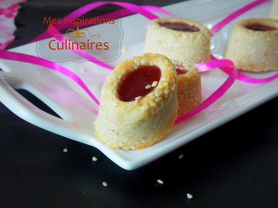 Petits fours a la confiture le blog cuisine de samar for Petit four cuisine