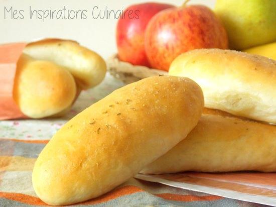 Petits pains moelleux et legers