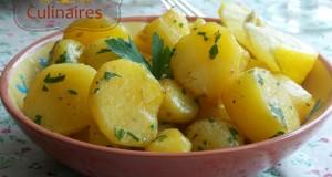 pommes de terre roties au four, au parmesan et citron