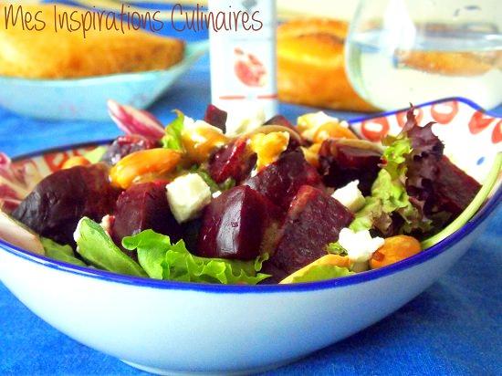 Salade de betterave au balsamique