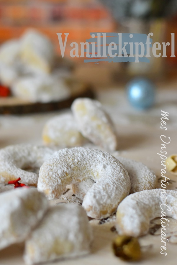 Vanille Kipferl (Sablés à la vanille de Christophe Felder)