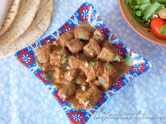 Kebda cuisien algerienne
