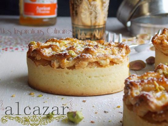 Alcazar : gateau aux amandes et abricots