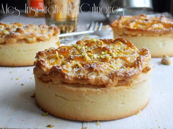 L'Alcazar : tarte aux amandes et abricots
