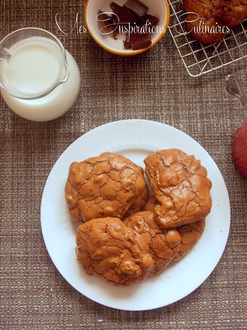 Outrageous Cookies {au chocolat} de Martha Stewart