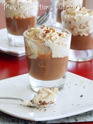 petits pots de crème au café chocolat