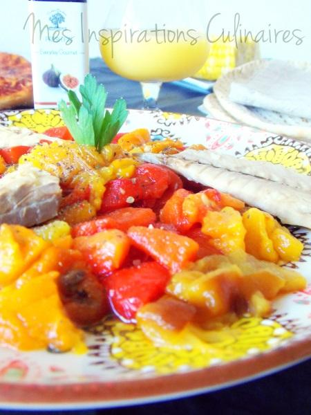 Salade de poivrons au balsamique
