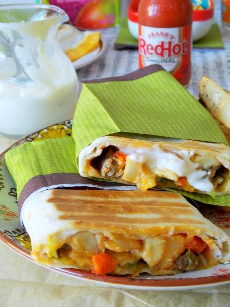 Tacos lyonnais la sauce gruy re le blog cuisine de samar for Assaisonnement tacos maison