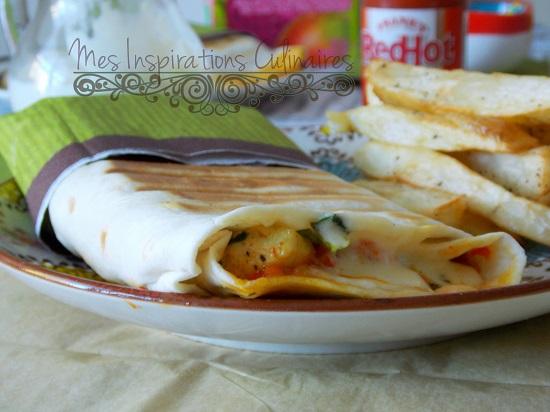 Tacos lyonnais à la sauce gruyère