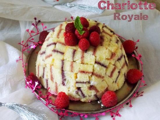 Charlotte royale meilleur pâtissier