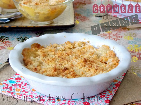 Crumble Aux Pommes Recette Facile Le Blog Cuisine De Samar