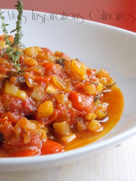 sauce tomate pour poisson