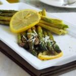 asperges grillees au parmesan et citron 1