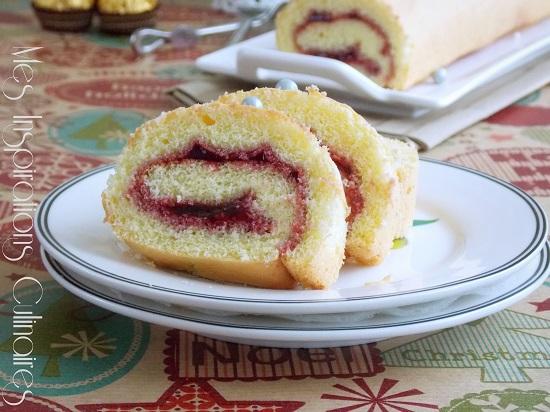 gâteau roulé facile