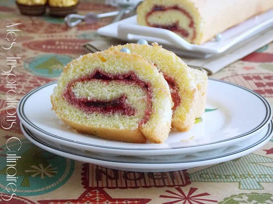 gâteau roulé inratable de Noël