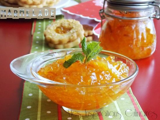 marmelade d'orange maison