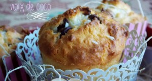 muffins a la noix de coco et pepites de chocolat 1
