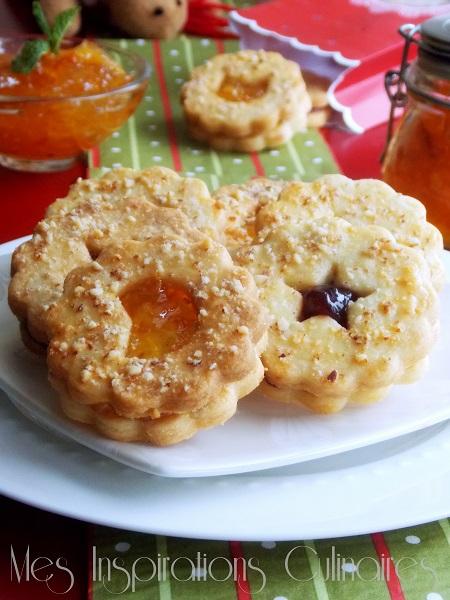 Biscuits façon tarte linzer