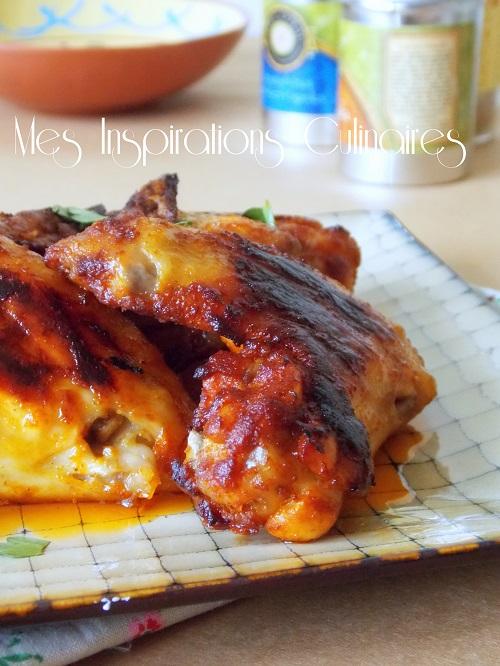ailes de poulet au four marinade l am ricaine le blog cuisine de samar. Black Bedroom Furniture Sets. Home Design Ideas