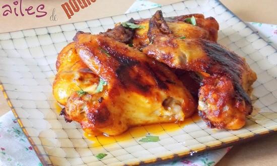 Ailes de poulet au four marinade l am ricaine le blog cuisine de samar - Cuisiner des ailes de poulet ...