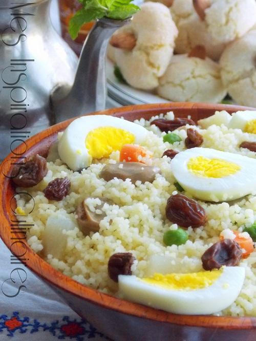 couscous-kabyle aux légumes vapeurs