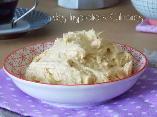 la crème au beurre facile
