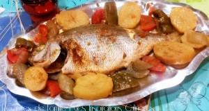recette de poisson blanc tilapia au four le blog cuisine de samar. Black Bedroom Furniture Sets. Home Design Ideas