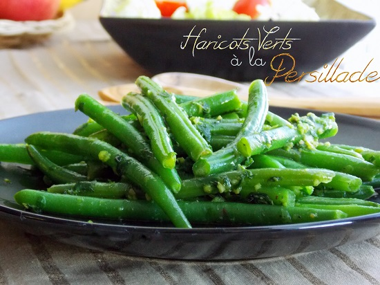 Haricots verts a la persillade