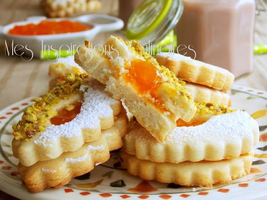Sabl s fondants la confiture foodista challenge 6 le blog cuisine de samar - Recette sable confiture maizena ...