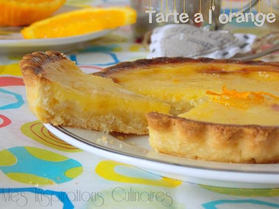 tarte a l'orange caramélisée