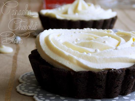 Ganache au chocolat blanc