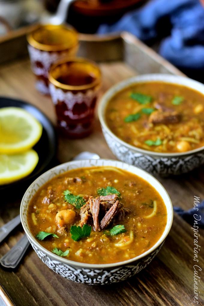 Soupe marocaine Harira Fassia