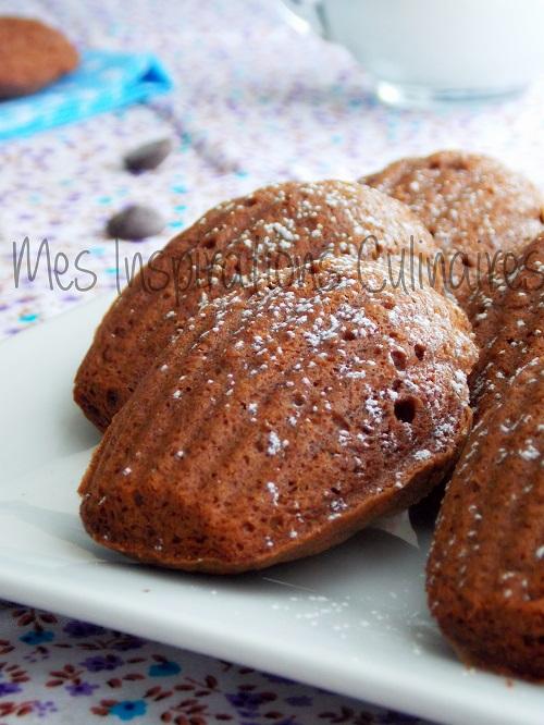 madeleine chocolat moelleux