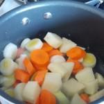 revenir les legumes