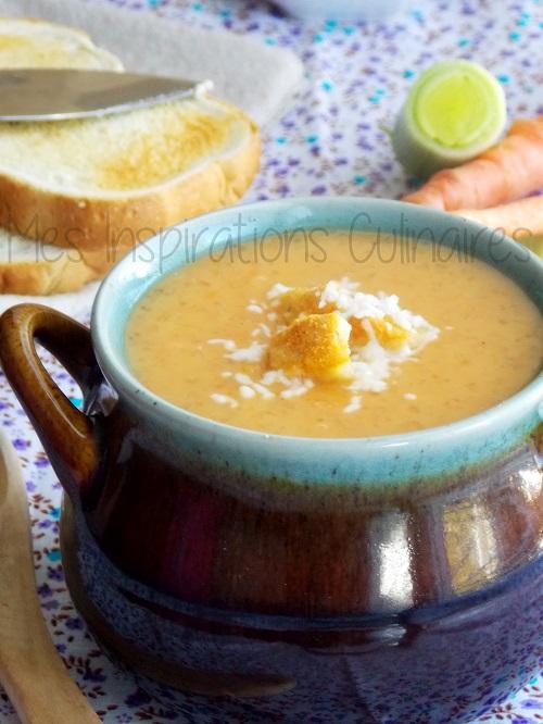 Soupe au tapioca