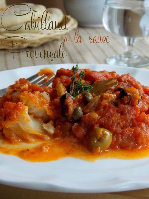 cabillaud sauce a la provencale 1